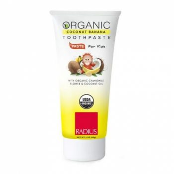 Radius USDA Organic Toothpaste Coconut-Banana for kids 85g. Oral care