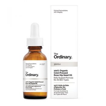 The Ordinary 100% Organic Cold-Pressed Rose Hip Seed Oil 30ml. Oils