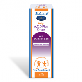 Biocare Baby A, C, D Plus Drops 15ml. Babies