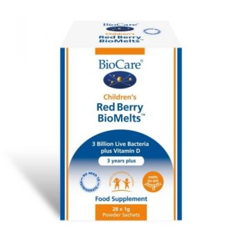 Biocare Children's Red Berry BioMelts - 28 Sachets. Powder