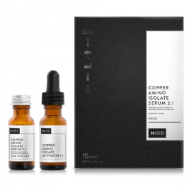 Niod Copper Amino Isolate serumas 2:1, 15ml. Serumas veidui
