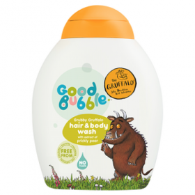 Good Bubble Gruffalo Hair & Body Wash with Prickly Pear Extract 250ml. Cleansers