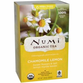 Numi Chamomile Lemon Tea. Tea