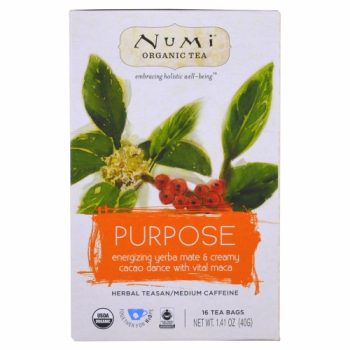 "Numi Holistic Tea mix ""Purpose"". Tea"