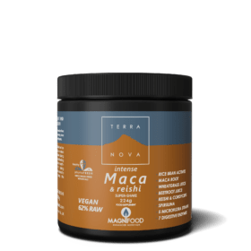 Terranova Intense Maca & Reishi Super Shake. Mushrooms