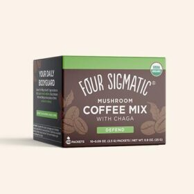 Four Sigmatic Instant Mushroom Coffee with Chaga and Cordyceps. Mushroom drinks