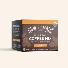 Four Sigmatic Instant Mushroom Coffee With Lion's Mane. Mushroom drinks