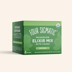 Four Sigmatic Chaga Elixir. Mushroom drinks