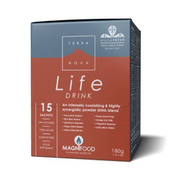 Terranova Life Drink In Box of 15 x 12g Sachets. Immunity