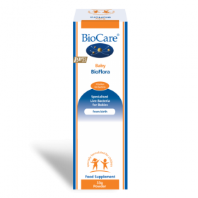 Biocare Baby BioFlora 33g. Live bacteria