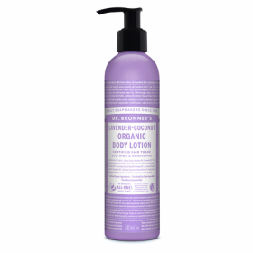 Dr. Brooner's Organic lotion Lavender Coconut 240ml. Creams and lotions