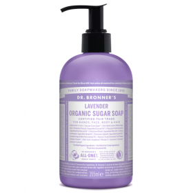 Dr. Brooner's ORGANIC SUGAR SOAP Lavender355ml. Cleansers