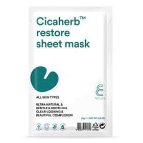 E NATURE E Nature Cicaherb™ Restore Sheet Mask. Masks