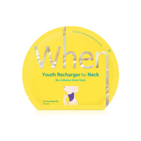 When Youth Recharger For Neck. Sheet masks