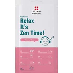 "Leaders Leaders Daily Wonders Relaxing Mask ""Relax It's Zen Time!"". Sheet masks"