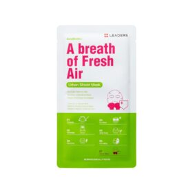 "Leaders Leaders Daily Wonders Urban Shield Mask ""A Breath of Fresh Air"". Sheet masks"