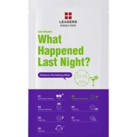 Leaders Leaders Daily Wonders Radiance Revitalizing Mask (What Happened Last Night?). Sheet masks