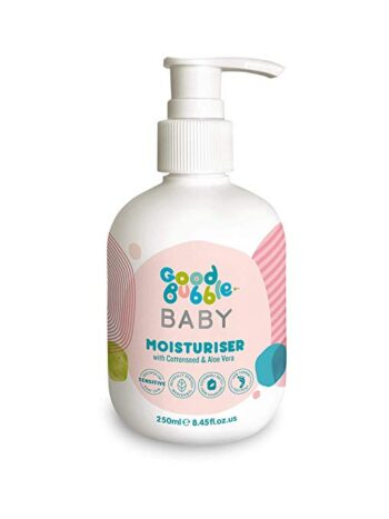 Good Bubble Baby Moisturiser with Cottonseed & Aloe Vera 250ml. Creams and lotions