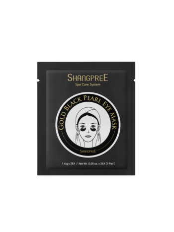 Shangpree Shangpree Gold Black Pearl Eye Mask. Eye masks