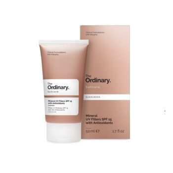The Ordinary Mineral UV Filters SPF 15 with Antioxidants. SUN PROTECTION