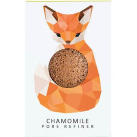Konjac Sponge KONJAC MINI PORE REFINER WOODLAND FOX WITH CHAMOMILE. Sponges
