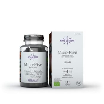 Hifas da Terra Mico Five + Chaga. Mushrooms