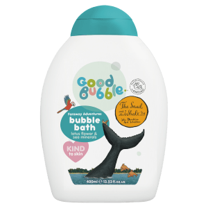 Good Bubble Snail and the Whale Lotus Flower and Sea Mineral Bubble Bath 400ml. Bath