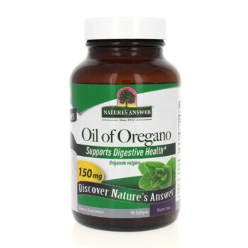 Natures Answer Oil of Oregano 90 Softgels. Immunity