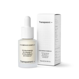 Transparent Lab Eye Repair Complex. Eye care