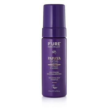 Pure Papaya P'URE Papayacare Facial Cleanser. Cleansers and exfoliators