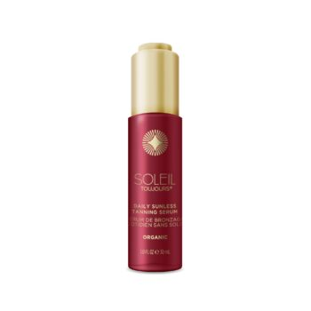 Soleil Toujours ORGANIC DAILY SUNLESS TANNING SERUM. Face