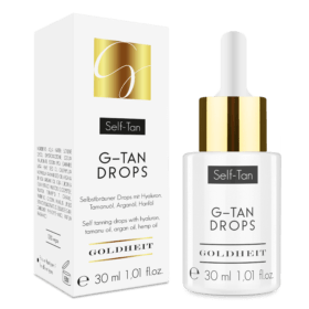 Goldheit G-TAN DROPS. Face