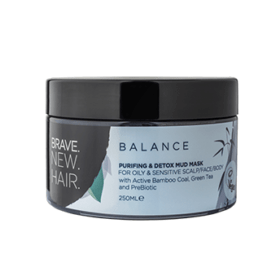 Brave New Hair DEEP CLEANSING MASK FOR HAIR AND SKIN. Conditioners and masks